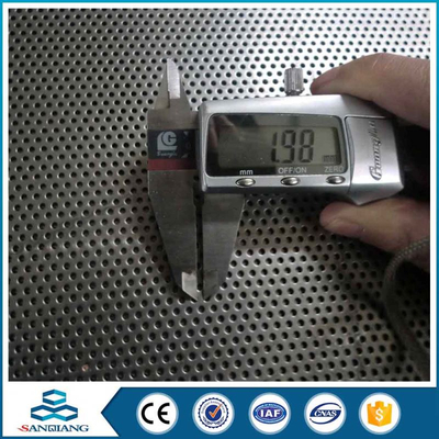 cheap ventilate circle micro perforated metal sheet mesh for garbage can