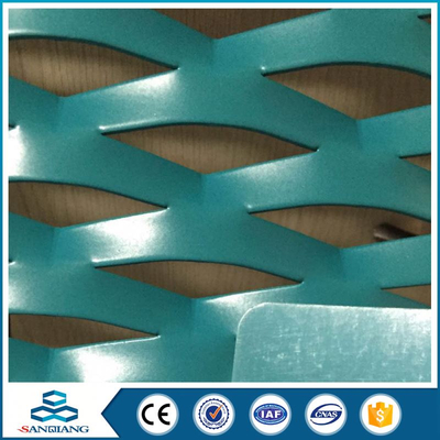 fluoro carbon coating aluminum expanded metal mesh panels