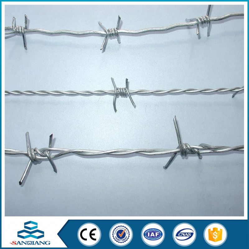 galvanized cross roll protected razor barbed wire made in china price per ton