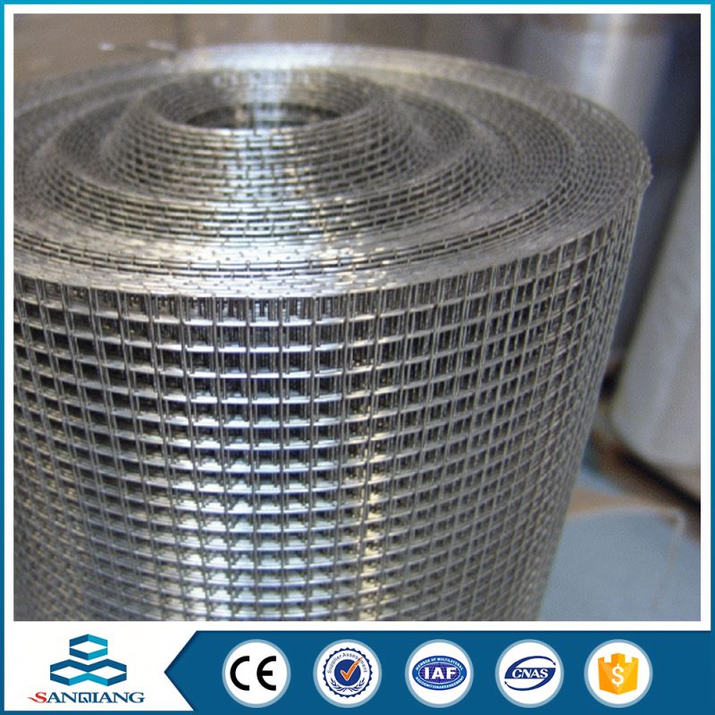 anti-corrosive and anti-rust 2x2 galvanized welded wire mesh roll or panel