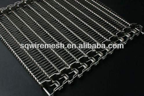 Different types of conveying belt mesh (factory)