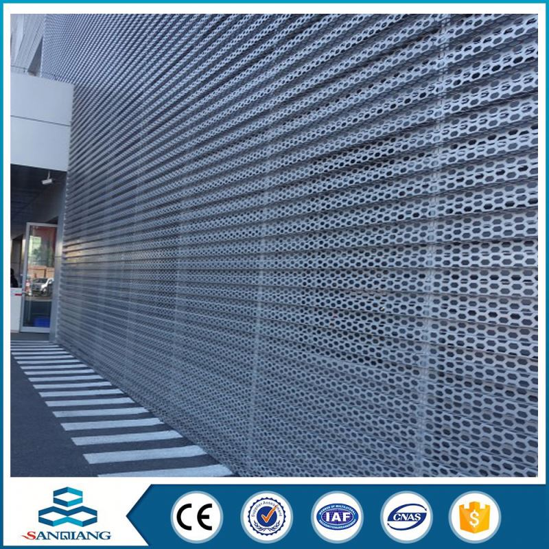 office furniture use perforated metal mesh coil plate