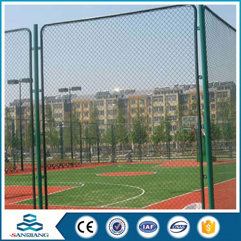 2016 hot sale galvanized low price chain link fence