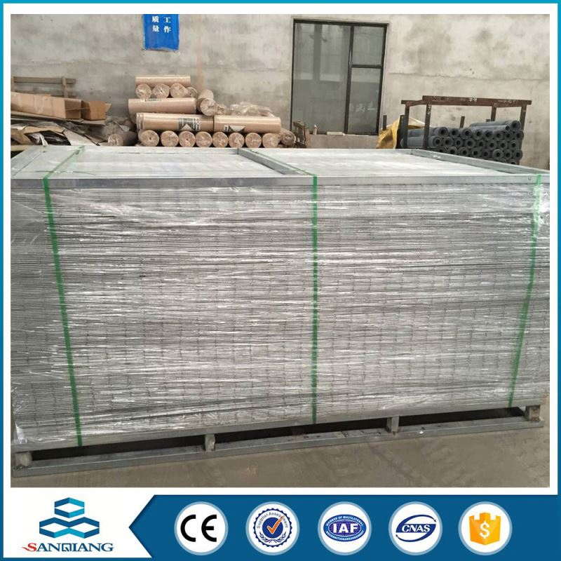 high strength galvanized welded wire mesh panel size