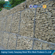 Galvanized/pvc coated hexagonal wire netting / gabion box/ stone cage