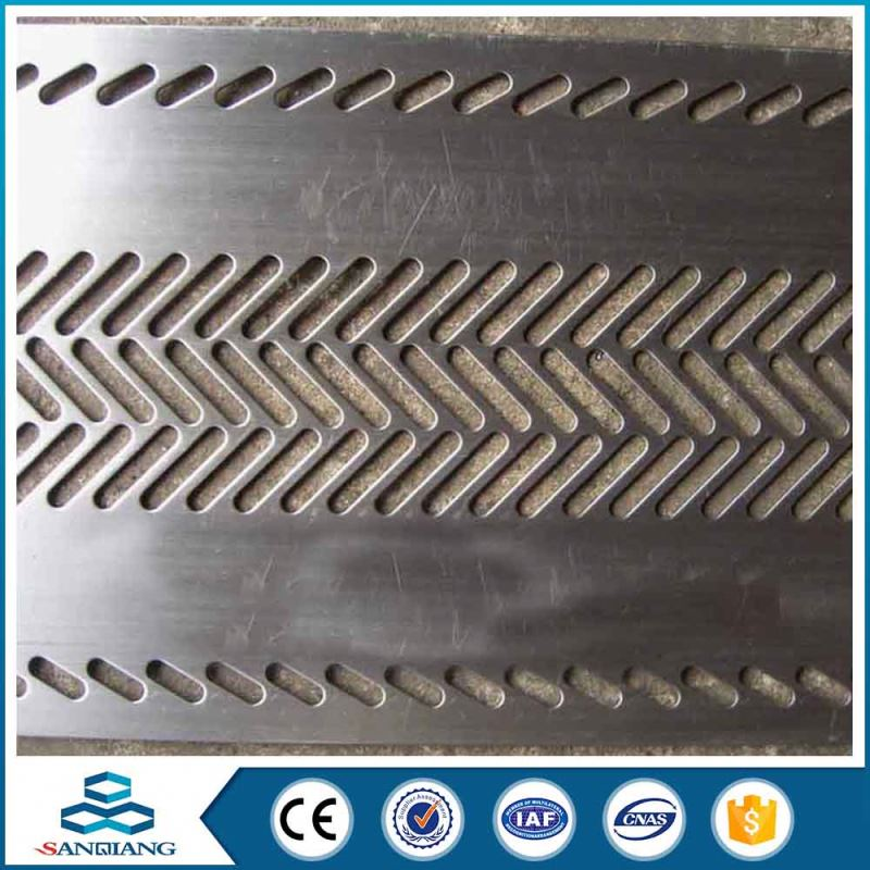 electric indoor decorative perforated metal sheet mesh with 4mm