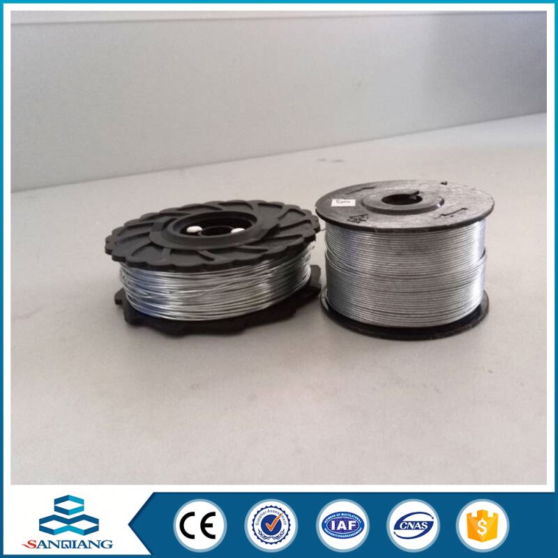 22 gauge soft galvanized pvc coated iron wire on spool