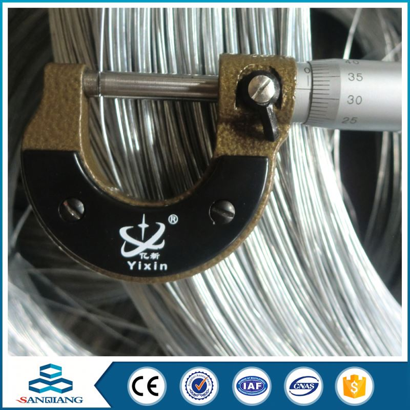 building materials galvanized iron wire from china direct factory