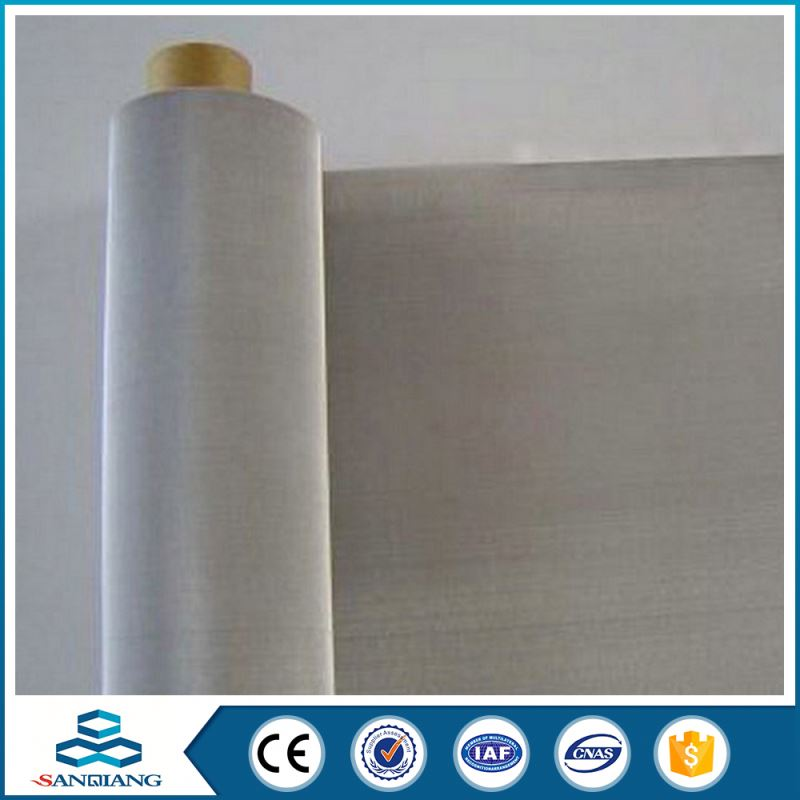 Factory Big Scale Commercial Cheap 316 stainless steel filter mesh 1 micron filter cloth
