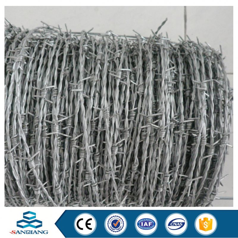 factory direct selling home depot cheap galvanized plastic pvc coated razor barbed wire