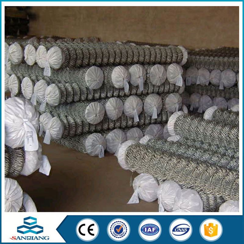 2016 hot quality vinyl coated used chain link fence