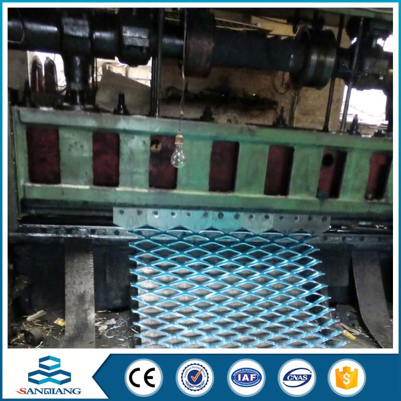aluminum welded expanded wire metal mesh facade panels