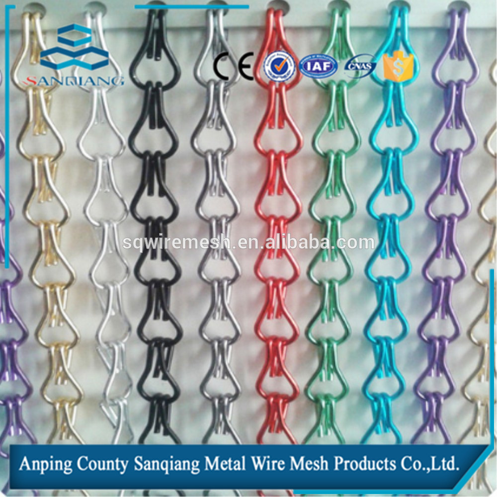 Metal Chain Link Fly Screen Mesh Door Curtain - Buy Product on