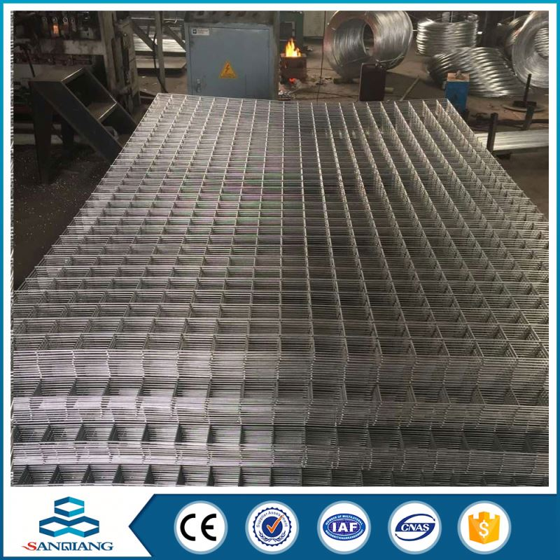 2x2 outfield wire zinc coated galvanized welded wire mesh panel with bend