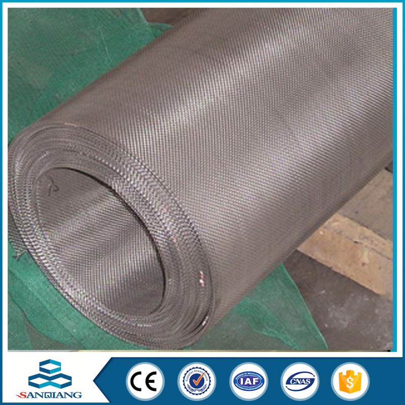 China Manufacturer High Capability quality 10 micron 316 stainless steel wire filter mesh