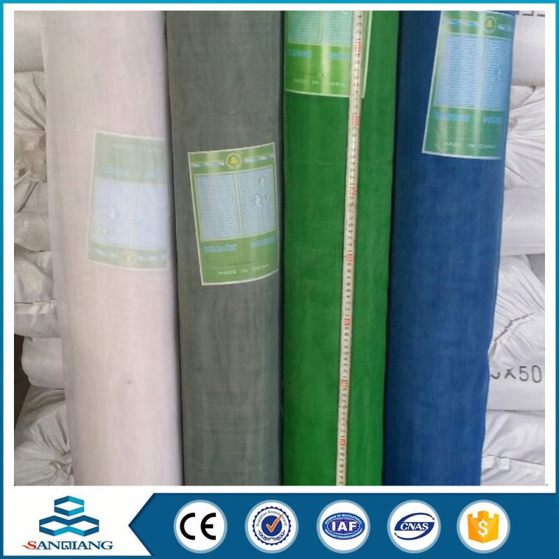 2016 Hot Selling retractable nylon window door insect screen fabric
