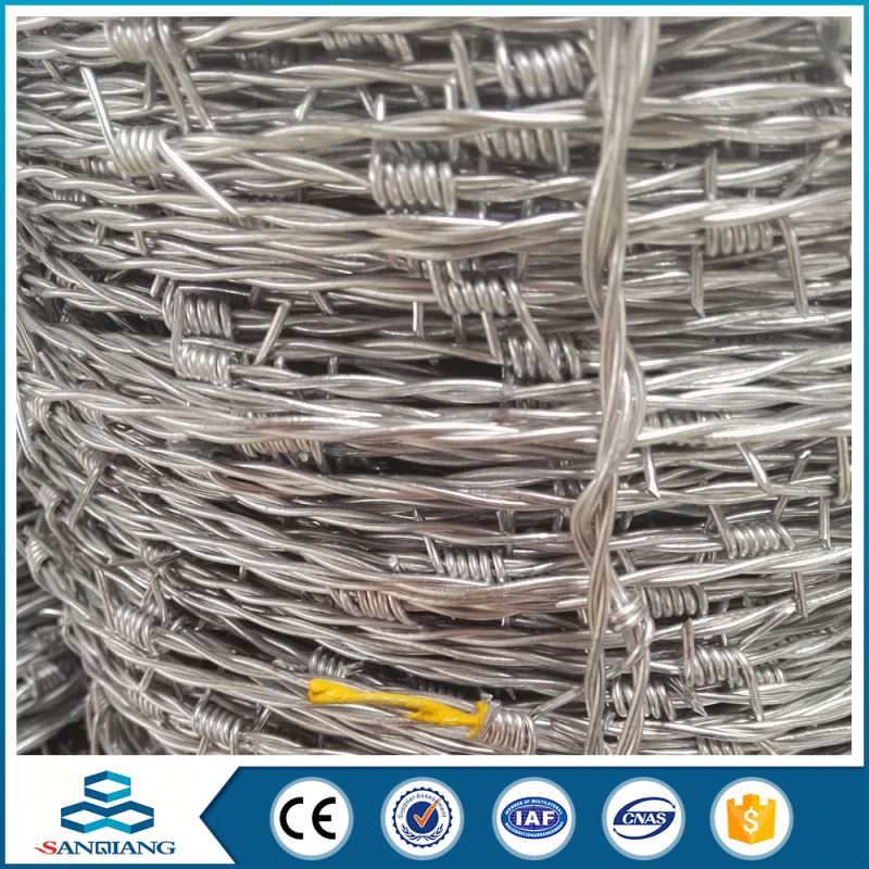 pvc coated barbed wire and galvanized thin razor barbed wire for sale