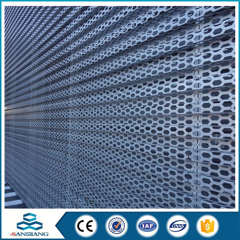 copper metal perforated metal sheet mesh