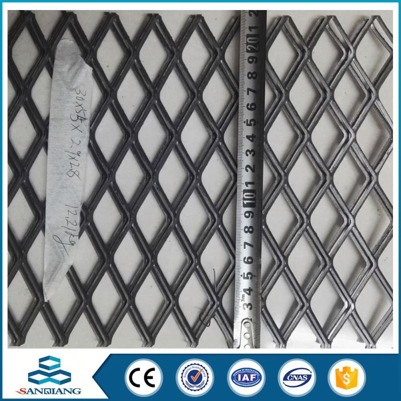The Newest Fashion automotive 300mm diamond gold expanded metal mesh