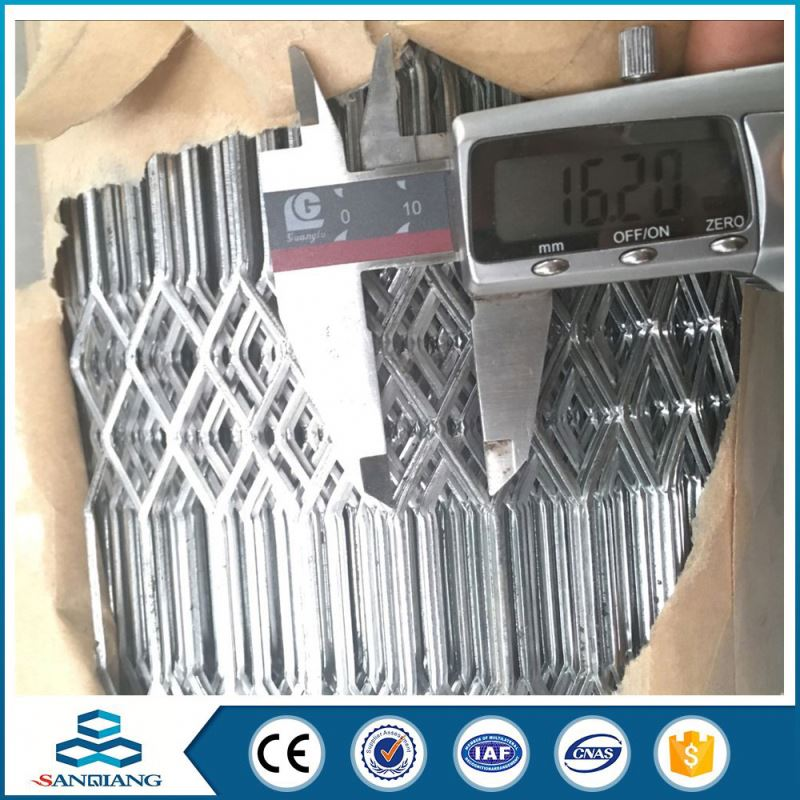 Factory Price black construction expanded metal mesh