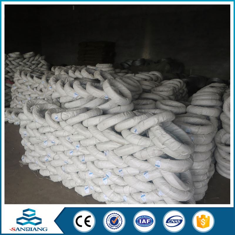 plastic pvc coated galvanized iron wire inside for bailing wire