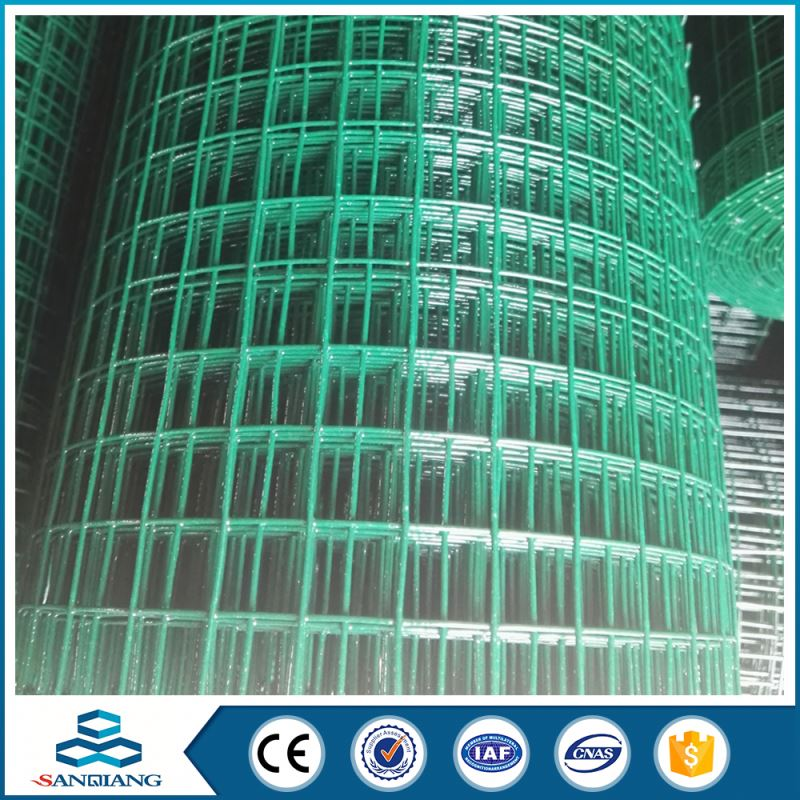 2x2 galvanized pvc coated welded wire mesh (galvanized/pvc coated)