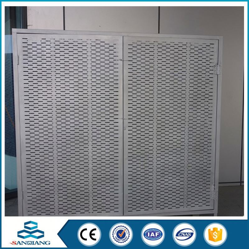 high-quality perforated metal sheet mesh used for the ceiling