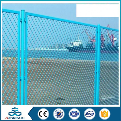black galvanized steel pipe pe safety triangle bending fence price