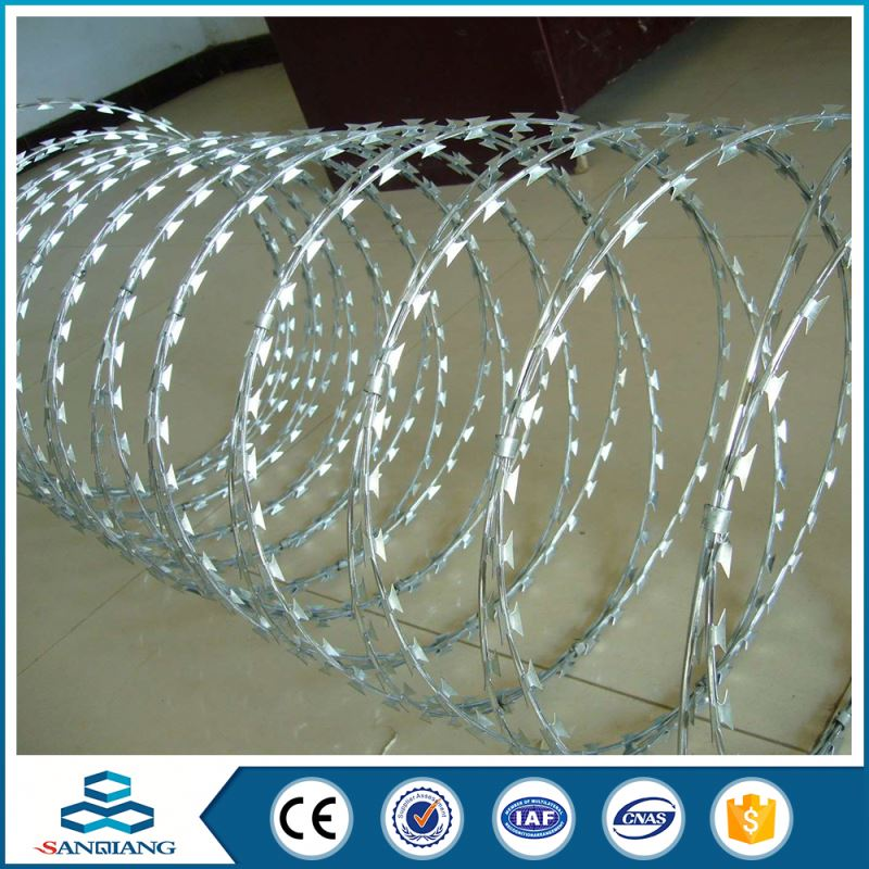 All Normal Sizes flat wrap razor wire mesh fencing prices
