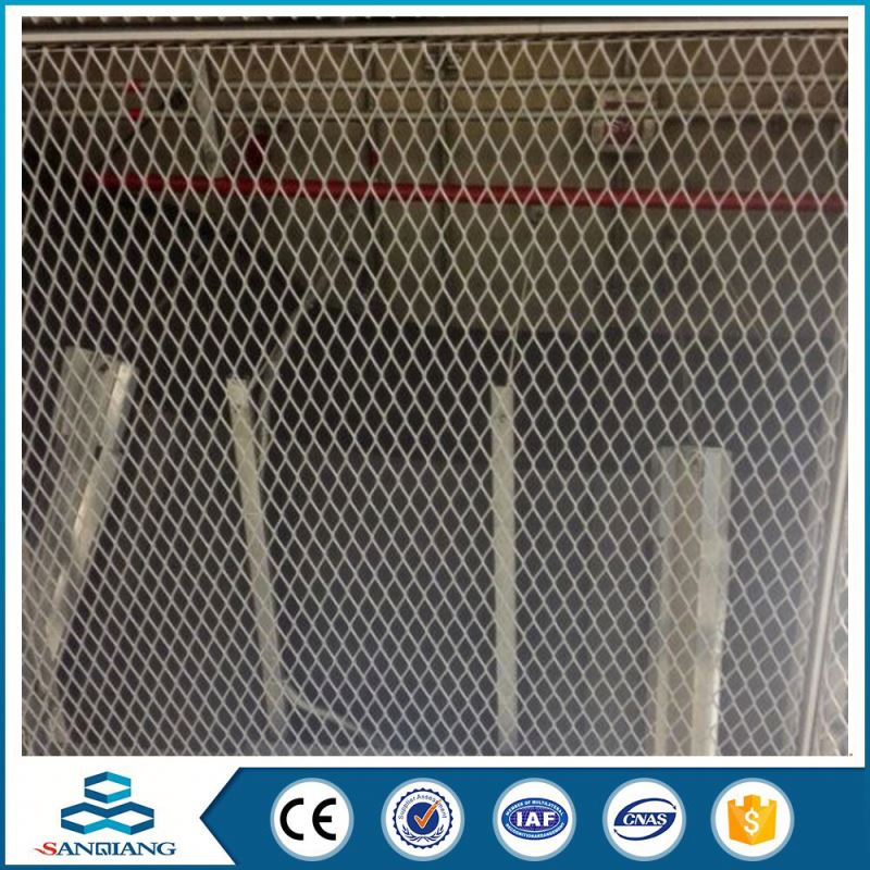 Big Production Ability 7mm*14mm diamond gold expanded metal mesh lath