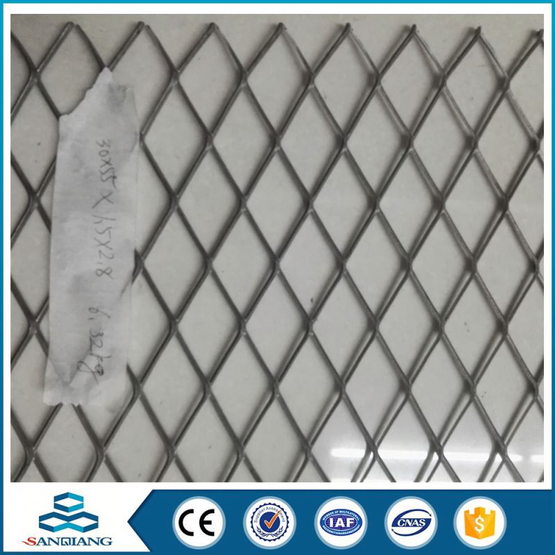 Good Supplier carbon steel heavy duty diamond hole expanded metal mesh(factory)