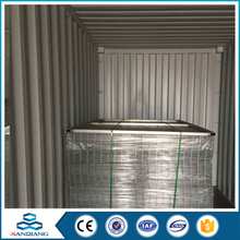 q235 steel reinforced 2x4 welded wire mesh panel factory