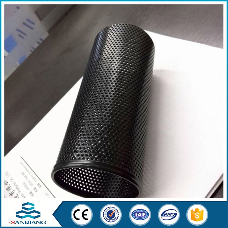 proof 5mm hole galvanized perforated metal mesh sheet panel