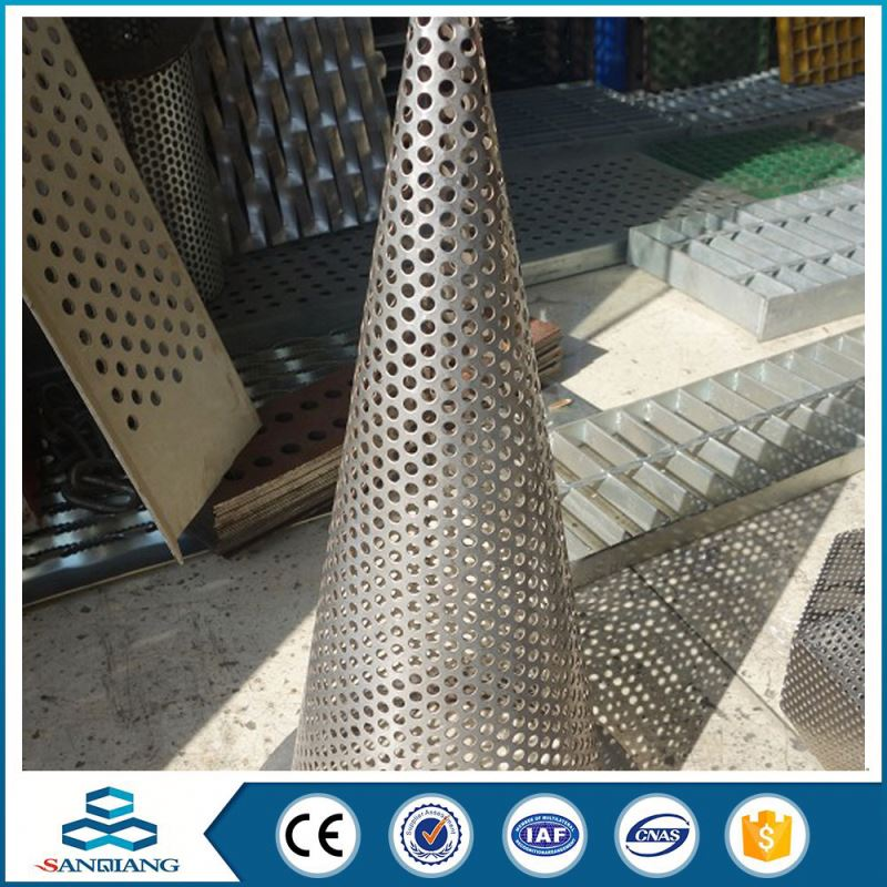 professional manufacture galvanized perforated sheet metal mesh filter mesh