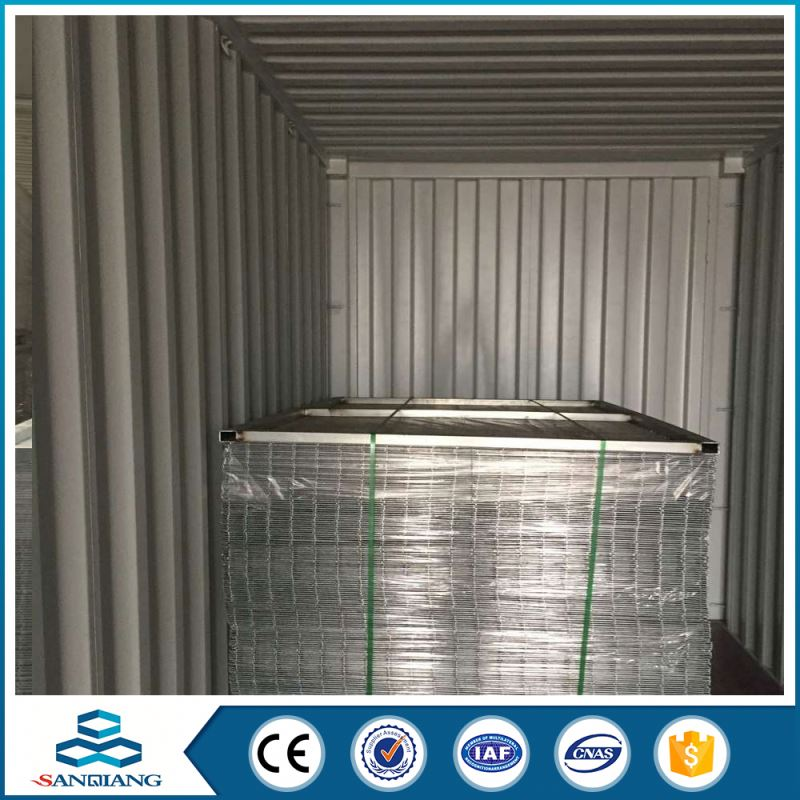 square galvanized welded wire mesh panel machine manufacture