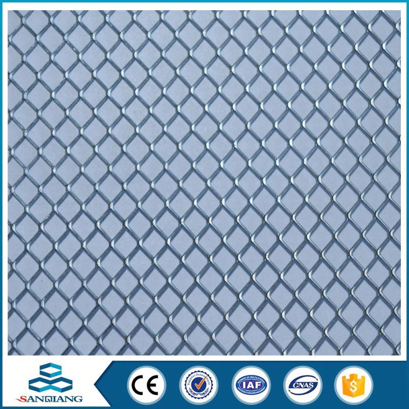 hebei small hole galvanized expanded metal mesh drain grating cover