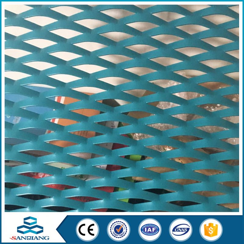 perforated aluminum expanded metal mesh sheet