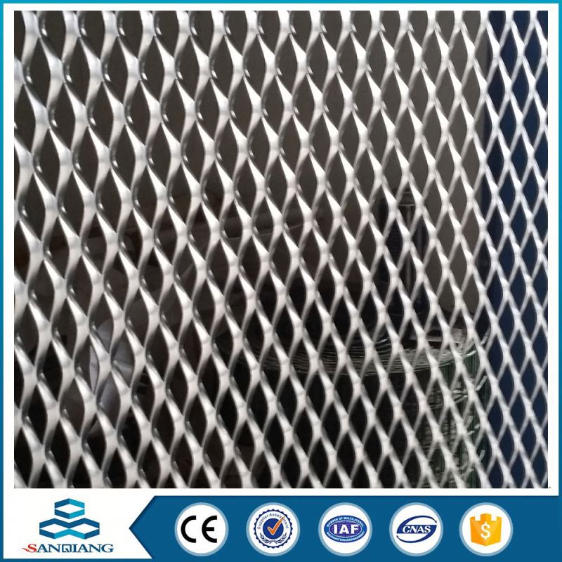 iron bbq grill hexagonal expanded metal mesh (factory)