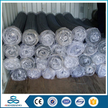 pvc coated chain link fence panels for stadium for sale