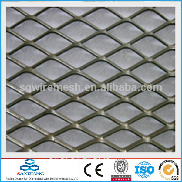 HOT SALE! Hebei factory low price SQ--pvc coated expanded mesh