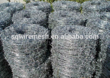 hot sale Barbed wire length per roll /barbed wire fence/barbed wire price alibaba express