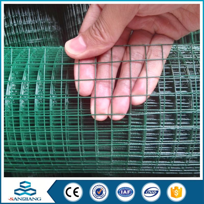 anping galvanized black welded wire mesh fence panels in 6 gauge