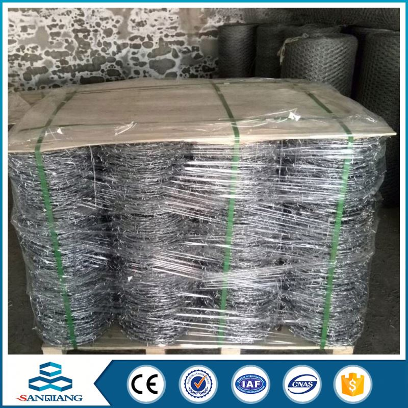 professional factory iron prison grade galvanized barbed wire different types