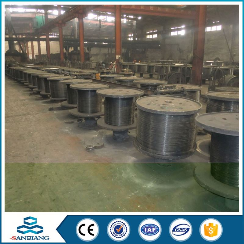 black galvanized iron wire factory for business bending