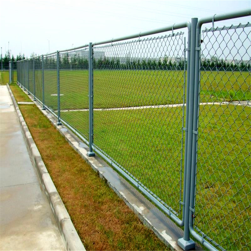 galvanized chain link fence for community