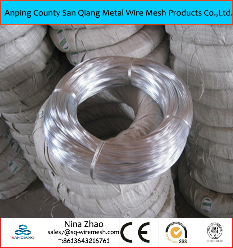 galvanized wire/spool wire/ galvanized steel wire