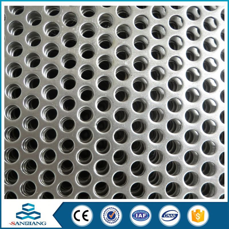 wind protection screen perforated metal sheet mesh stainless steel