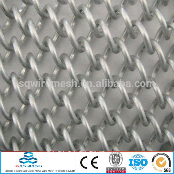 stainless steel wire green Anping Chain Link Fence(manufacturer)