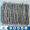 cbt65 single coil galvanized double line barbed wire concertina wire for sale