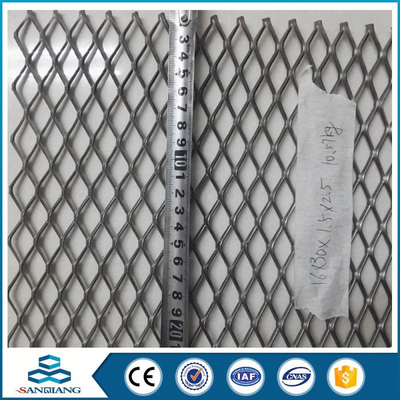 Color optional architectural 202 expanded metal mesh factory from anping